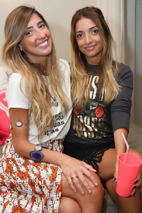 Luiza D'Angelo e Michele Licory